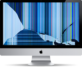 iMac broken screen Coppell
